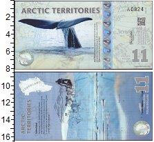 Изображение Банкноты Арктика 11 долларов 2013  UNC