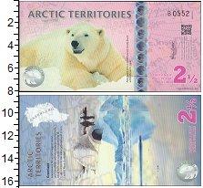 Изображение Банкноты Антарктика Арктика 2 1/2 доллара 2013  UNC
