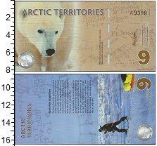 Изображение Банкноты Арктика 9 долларов 2012  UNC