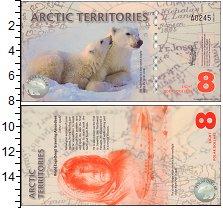 Изображение Банкноты Антарктика Арктика 8 долларов 2011  UNC