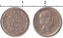 Изображение Монеты Нидерланды 5 центов 1850 Серебро XF Вильям III