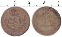 Изображение Монеты Вюртемберг 6 крейцеров 1806 Серебро VF