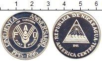 Изображение Монеты Никарагуа 1 кордоба 1995 Серебро Proof