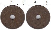 Изображение Монеты Дания 2 эре 1928 Медь VF+