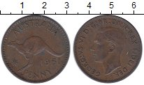 Изображение Монеты Австралия 1 пенни 1951 Бронза XF