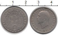 Изображение Монеты Греция 1 драхма 1957 Медно-никель XF-