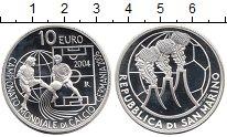 Изображение Монеты Сан-Марино 10 евро 2004 Серебро Proof
