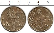 Изображение Монеты Польша 2 злотых 2000 Латунь UNC-
