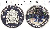 Изображение Монеты Малави 10 квач 2010 Посеребрение Proof- `Цветная эмаль. Сери