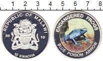 Изображение Монеты Африка Малави 10 квач 2010 Посеребрение Proof-