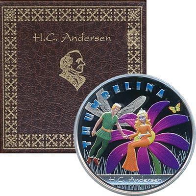 Изображение Подарочные монеты Австралия и Океания Фиджи Дюймовочка 2010 Серебро Proof-