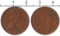 Изображение Дешевые монеты Австралия и Океания Австралия 2 пенса 1966 Медь VF