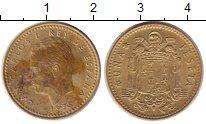 Изображение Дешевые монеты Испания 1 песета 1975 Латунь VF