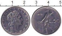 Изображение Дешевые монеты Европа Италия 50 лир 1979 Медно-никель XF