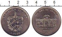Изображение Монеты Куба 1 песо 1991 Медно-никель UNC 1992 - год Испании.