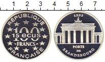 Изображение Монеты Европа Франция 100 франков 1993 Серебро Proof