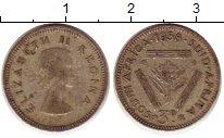 Изображение Монеты Африка ЮАР 3 пенса 1958 Серебро XF
