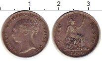 Изображение Монеты Великобритания 4 пенса 1838 Серебро XF