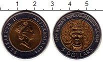 Изображение Монеты Австралия 5 долларов 1994 Биметалл UNC