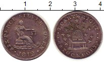 Изображение Монеты Европа Великобритания 6 пенсов 1812 Серебро XF