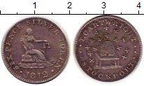 Изображение Монеты Великобритания 6 пенсов 1812 Серебро XF Токен.Стокпорт