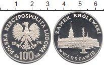 Изображение Монеты Польша 100 злотых 1975 Серебро Proof Королевский  замок