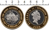 Изображение Монеты Австралия и Океания Соломоновы острова 10 долларов 2000 Серебро Proof