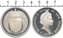 Изображение Монеты Новая Зеландия 1 доллар 1979 Серебро Proof