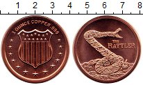 Изображение Мелочь Северная Америка США 1 унция 0 Медь UNC-