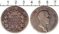 Изображение Монеты Германия Пруссия 1 талер 1814 Серебро VF