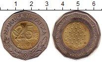 Изображение Монеты Европа Хорватия 25 кун 2011 Биметалл UNC-