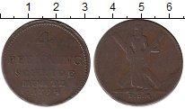 Изображение Монеты Германия Брауншвайг-Люнебург-Каленберг-Ганновер 4 пфеннига 1794 Медь VF