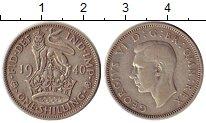 Изображение Монеты Европа Великобритания 1 шиллинг 1940 Серебро XF