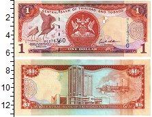 Изображение Банкноты Тринидад и Тобаго 1 доллар 2006  UNC-