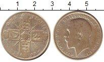 Изображение Монеты Европа Великобритания 1 флорин 1923 Серебро VF