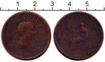 Изображение Монеты Европа Великобритания 1/2 пенни 1806 Медь VF