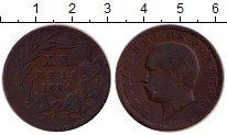 Изображение Монеты Португалия 20 рейс 1884 Бронза VF