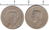 Изображение Монеты Африка ЮАР 3 пенса 1943 Серебро VF
