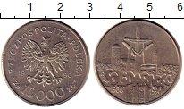 Изображение Монеты Польша 1000 злотых 1990 Медно-никель UNC-