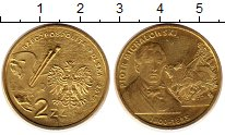 Изображение Монеты Польша 2 злотых 2012 Латунь UNC Петр Михаловски