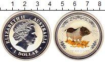 Изображение Монеты Австралия и Океания Австралия 1 доллар 2007 Серебро Proof-