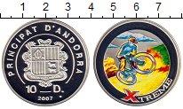 Изображение Монеты Европа Андорра 10 динерс 2007 Серебро Proof-