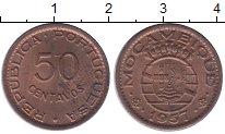 Изображение Монеты Африка Мозамбик 50 сентаво 1957 Бронза XF