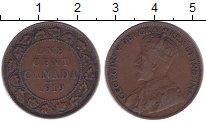 Изображение Монеты Северная Америка Канада 1 цент 1919 Бронза XF