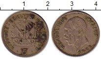 Изображение Монеты Северная Америка Гаити 5 сентим 1905 Медно-никель XF-
