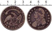 Изображение Монеты Северная Америка США 50 центов 1831 Серебро XF-