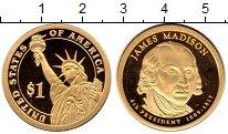 Изображение Монеты Северная Америка США 1 доллар 2007 Латунь Proof