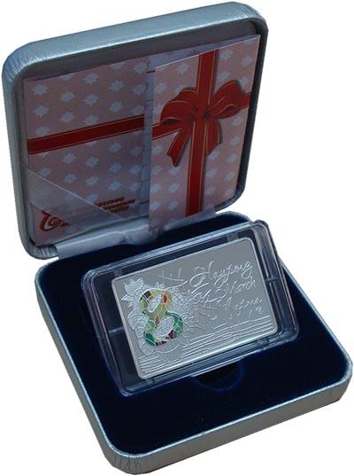 Изображение Подарочные монеты Казахстан 100 тенге 2014 Серебро Proof