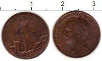 Изображение Монеты Италия 1 сентесимо 1910 Медь XF