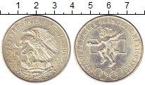 Изображение Монеты Северная Америка Мексика 25 песо 1968 Серебро XF